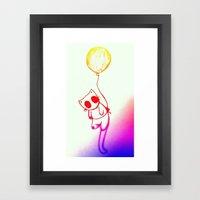 Balloon Animal (color) Framed Art Print