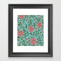 Flourish (version 2) Framed Art Print