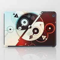 Ying-Yang Blue Version iPad Case