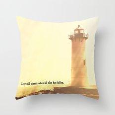 Love Still Stands Throw Pillow