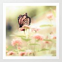 Queen of Spring Art Print