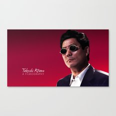 Takeshi Kitano - a filmography cover Canvas Print