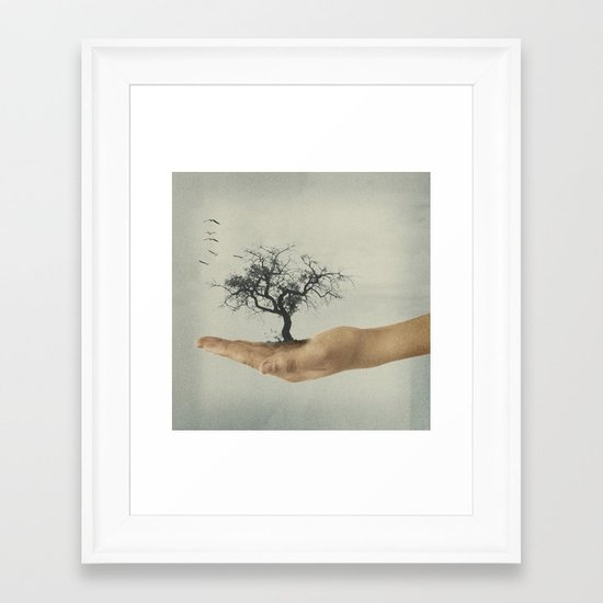 It's all in your mind Framed Art Print
