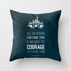 Dreams come true Throw Pillow