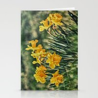 Bunch Of Daffs Stationery Cards