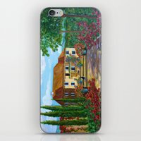 Tuscany with Cats iPhone & iPod Skin