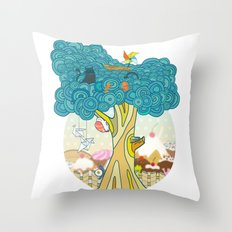 Insect Sushi Throw Pillow