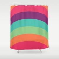 70s Flair Shower Curtain