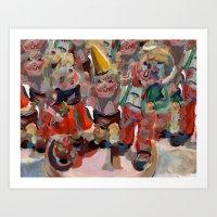 Hummel Funnel Art Print