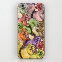 Squirrels Parade iPhone & iPod Skin