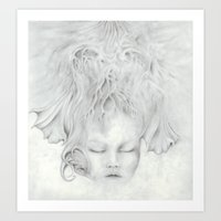 Moonflower Art Print