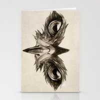 Hawk Eye Glare Stationery Cards