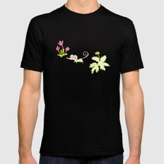 Une souris verte SMALL Black Mens Fitted Tee