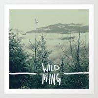 Wild Thing: Skagit Valle… Art Print