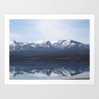 Flathead Lake  Art Print