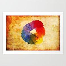Colors Series 1 : Circle of Life Art Print