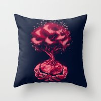 In Our Hands Throw Pillow