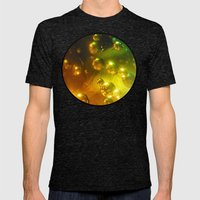Bubbles! Mens Fitted Tee Tri-Black SMALL