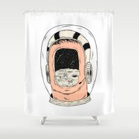 From The Earth To The Mo… Shower Curtain