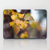 Autumn Yellow iPad Case