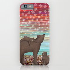 brown bears and stars iPhone 6 Slim Case