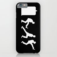 iPhone & iPod Case featuring The Tardis of Silly Walks by trekvix