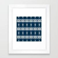 Palm Deco Framed Art Print