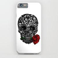 Skull Rose iPhone 6 Slim Case