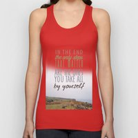 Can't Go Back Now Unisex Tank Top