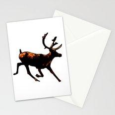 The Mighty Moose Mongoose Reindeer Elk Rentier Caribou Stationery Cards