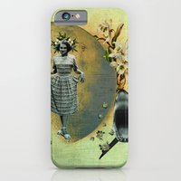 iPhone Cases featuring pleased to meet you hope you guess my name by Rosa Picnic
