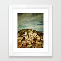 Taormina Framed Art Print