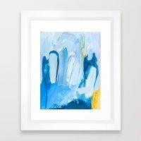 Color Study No. 10 Framed Art Print