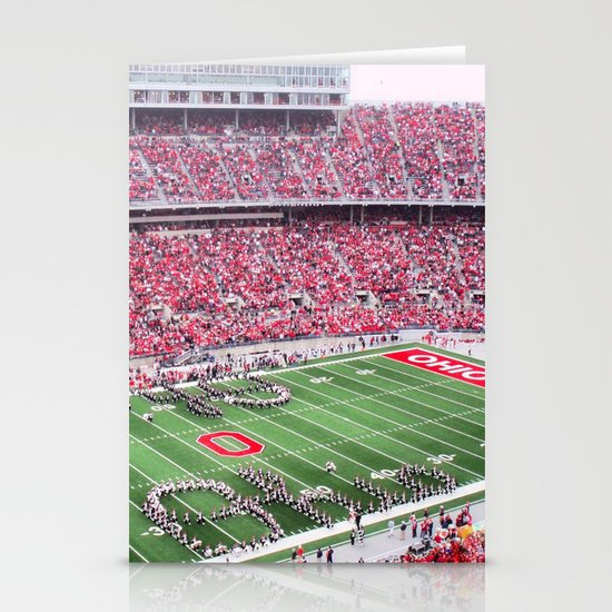 GO BUCKS!  Stationery Card