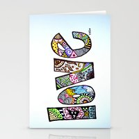 love is all you need. (color) Stationery Cards