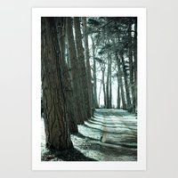 Lodge Lane Art Print