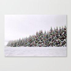Festive Collage Canvas Print