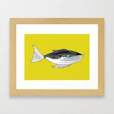 Whale, whale art, whale illustration, art, illustration, design, animal, whales, print, Framed Art Print
