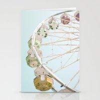 Pastel Ferris Wheel  Stationery Cards