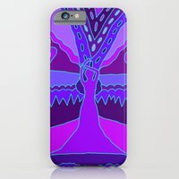iPhone Cases featuring Abstract 31 by Linda Tomei