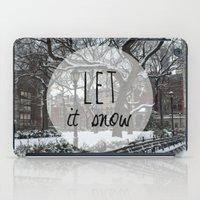 Let it snow! iPad Case