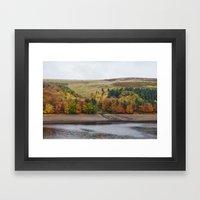 Autumnal Trees At Derwen… Framed Art Print