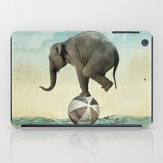 Elephant at Sea iPad Case