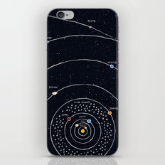 Solar system iPhone & iPod Skin