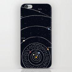 Solar system iPhone & iPod Skin