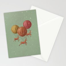 Flight of the Deer Stationery Cards
