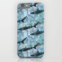Sharks Repeat 1 iPhone 6 Slim Case