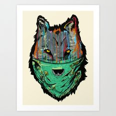 Wolf Mother - Screen Print Edition  Art Print