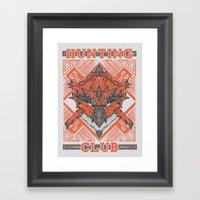 Hunting Club: Rathalos Framed Art Print