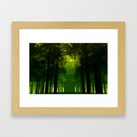 The Temple Framed Art Print